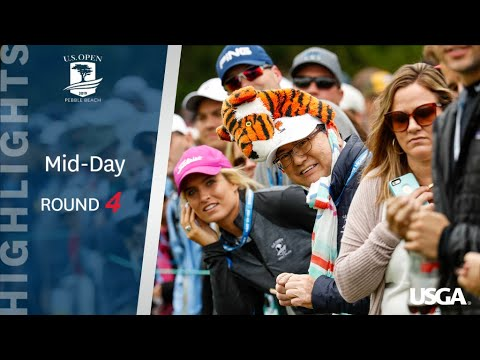 2019 U.S. Open, Round 4: Mid-Day Highlights