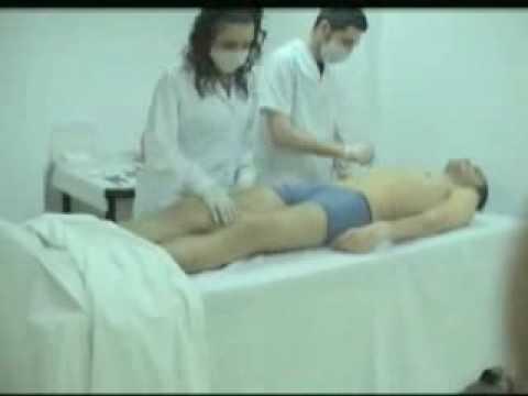 AUTOPSIA - Persona viva en proceso de autopsia.