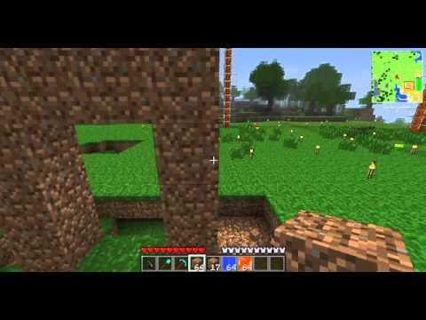 minecraft การทำประตูนรกแบบง่าย
