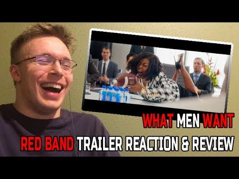 """What Men Want Red Band Trailer - REACTION & REVIEW (Making a """"Red Band"""" Trailer """"Clean"""")"""