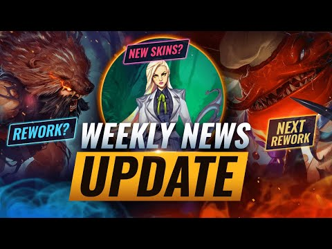 NEW UPDATES: UPCOMING REWORKS + NEW SKINS & MORE - League of Legends