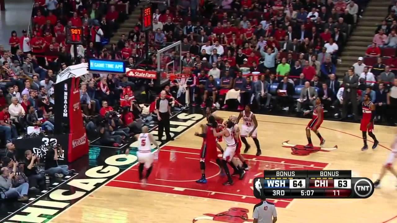 Washington Wizards vs Chicago Bulls Game 2   April 22, 2014   NBA Playoffs 2014