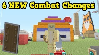 Minecraft PE / Xbox - 6 Ways Combat Could Change (Minecon)