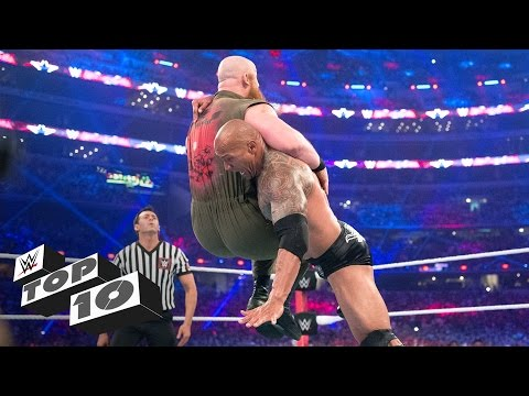 Fastest one-on-one matches - WWE Top 10