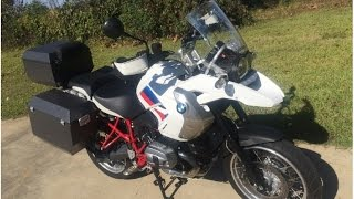 8. 2012 BMW 1200 GS Rally Special Edition Dual Sport Bike