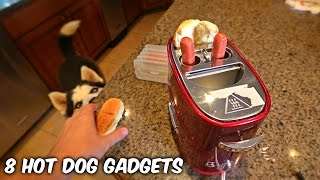 Video 8 Hot Dog Gadgets put to the Test MP3, 3GP, MP4, WEBM, AVI, FLV September 2018