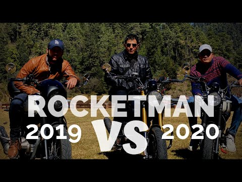 🏍️ Rocketman 2019 (clásica) vs 2020 Sport 🏍️| Test Drive | Estas son las diferencias
