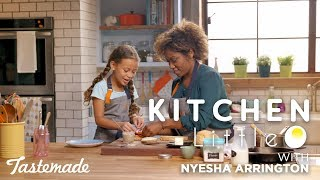 Chef Nyesha Arrington Gets Her Gruyère On I Kitchen Little by Tastemade