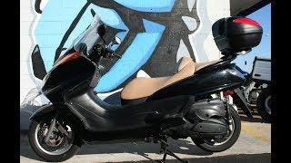 10. 2006 Yamaha Majesty 400 ...Freeway legal commuter scooter!