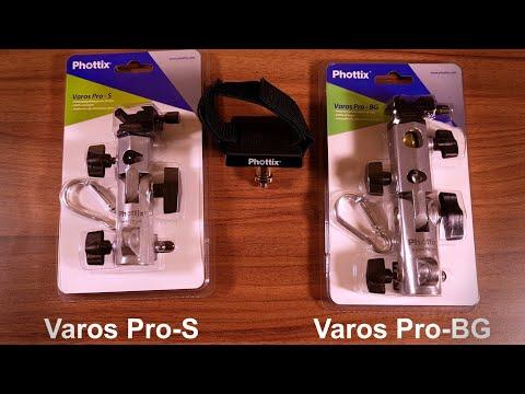 Diferenta dintre Phottix Varos Pro S si Varos Pro BG si de ce ai nevoie de Phottix Varos H-mount