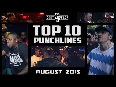 DON'T FLOP: TOP 10 PUNCHLINES | AUGUST 2015 @DontFlop