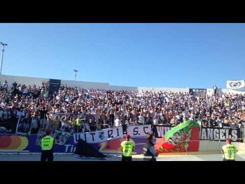 Adeptos do Vitória SC em Chaves.