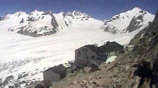 Aletschgletscher Konkordia time-lapse