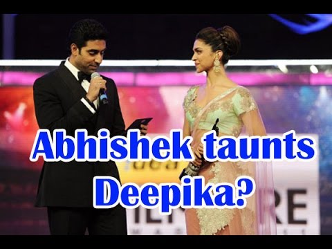 Video Did an upset Abhishek Bachchan taunt Deepika Padukone? - TOI download in MP3, 3GP, MP4, WEBM, AVI, FLV January 2017