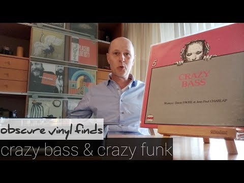 Obscure 70's Vinyl Finds - CRAZY BASS AND CRAZY FUNK - Ep. #25 - Vinyl Community