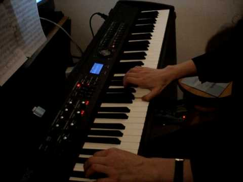 Nine Inch Nails - All The Love In The World - piano cover Video