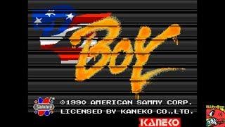 DJ Boy [djboy] (Arcade Emulated / M.A.M.E.) by ILLSeaBass