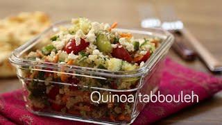 Quinoa tabbouleh video