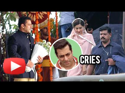 Salman Khan Cries Because Of Sonam Kapoor | On The