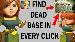 Video (HINDI) HOW TO FIND DEAD BASES EVERY CliCK IN clash of clans MP3, 3GP, MP4, WEBM, AVI, FLV Oktober 2017