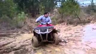 7. Polaris 300 hawkeye muddin