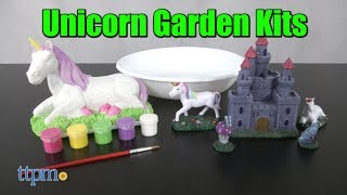 New Creative Roots Create Your Own Unicorn Garden and Paint Your Own Unicorn kits! Young green thumbs can decorate with unicorns! The Unicorn Garden accessories add whimsy to any flower garden! Or paint a unicorn figure however you want! See how TTPM decorated in this video review! For full review and shopping info► https://ttpm.com/p/23762/horizon-group-usa/paint-your-own-unicorn/?ref=ythttps://ttpm.com/p/23763/horizon-group-usa/create-your-own-unicorn-garden/?ref=ytProduct Info: Get creative in the flower garden with two new Creative Roots kits: Create Your Own Unicorn Garden and Paint Your Own Unicorn, sold separately. With the Unicorn Garden, kids get a planter and five already-painted accessories for decorating a flower garden, either one they grow in the planter or one in their yard. With the Paint Your Own Unicorn, kids can use five paint colors to paint a polyresin unicorn figure. Then, display it indoors or outdoors.✮SEE MORE TOYS✮ARTSPLASH 3D LIQUID ART:https://ttpm.com/p/23570/mattel/artsplash-3d-liquid-art/?ref=ytDC SUPER HERO GIRLS FROST:https://ttpm.com/p/23551/mattel/dc-super-hero-girls-frost/?ref=ytMARVEL SPIDER-MAN SWING AND SLING SPIDEY: https://ttpm.com/p/23125/just-play/marvel-spiderman-swing-and-sling-spidey/?ref=yt✮SUBSCRIBE TTPM Toy Reviews✮https://www.youtube.com/c/ttpm✮SUBSCRIBE TTPM Baby Gear Reviews✮https://www.youtube.com/c/ttpmbaby✮SUBSCRIBE TTPM Pet Toys & Gear Reviews✮https://www.youtube.com/c/ttpmpets✮SUBSCRIBE TTPM First Look Toys Unboxing✮https://www.youtube.com/c/ttpmfirstlooktoys✮FOLLOW US✮Facebook: https://www.facebook.com/TTPMOfficialTwitter: https://twitter.com/ttpmInstagram: https://instagram.com/ttpmofficial/Pinterest: https://www.pinterest.com/ttpmofficial/Snapchat: TTPMOfficial: https://www.snapchat.com/add/ttpmofficial✮FOLLOW TTPM Baby✮Facebook: https://www.facebook.com/TTPMBaby/Twitter: https://twitter.com/TTPMbabyInstagram: https://www.instagram.com/ttpmbaby/✮FOLLOW TTPM Pets✮Facebook: https://www.facebook.com/TTPMPetsTw