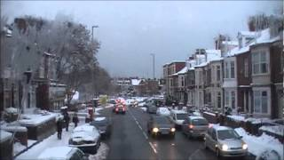 South Shields United Kingdom  City new picture : Winter Streets of South Shields, UK