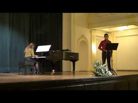 Jules Mouquet: Solo de Concours (видео)