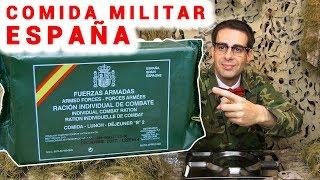 Probando Comida Militar Española (Ración Cena B2)