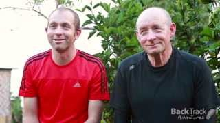 Father and son trek the Kokoda Track
