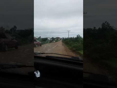 Rodovia BA 120 em estado vergonhoso . Ipecaetá Bahia