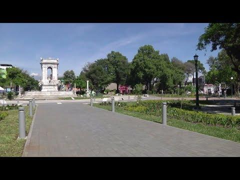 Plaza España un nuevo espacio peatonal