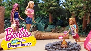 "Based on Season 3, Episode 7 of ""Life in the Dreamhouse,"" Stacie sets out for adventure in the wilderness determined to earn her camping badge.Barbie: LIVE in the Dreamhouse re-creates your favorite Barbie: Life in the Dreamhouse episodes with real dolls! Watch more: http://po.st/BLIDLiveSUBSCRIBE: http://bit.ly/BarbieSubAbout Barbie:For over 57 years, Barbie has led girls on a path to self-discovery and helped them to imagine the possibilities. After over 180 inspirational careers, Barbie—along with her friends and family—continues to inspire and encourage the next generation of girls that they can be anything. Connect with Barbie Online:Visit the official Barbie WEBSITE: http://bit.ly/BarbieWebsiteLike Barbie on FACEBOOK: http://po.st/Barbie_FBFollow Barbie on TWITTER: http://po.st/Barbie_TwitterFollow Barbie on INSTAGRAM: http://po.st/Barbie_InstagramOh How Campy, Too  Barbie LIVE! In the Dreamhouse  Barbiehttps://www.youtube.com/user/barbie"