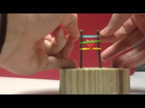 How To Make a Rainbow Rubber Band Fishtail Bracelet without the Loom