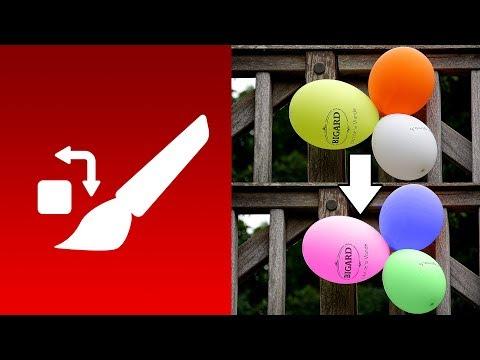 الدرس 10 شرح أداة تبديل اللون Color Replacement Tool