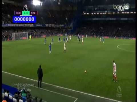 2nd Gool Chelsea vs Stoke City 4-2 HD