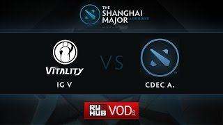 CDEC.A vs iG.V, game 1