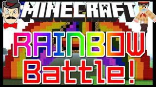 Minecraft Clay Soldiers - RAINBOW CHICKEN Battle ! Clay Soldiers Subs Arena Bet Match #87!