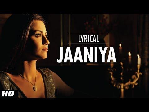 Jaaniya Lyrical |  Haunted - 3D | Mahakshay Chakraborty, Tia Bajpai | Siddharth Basrur