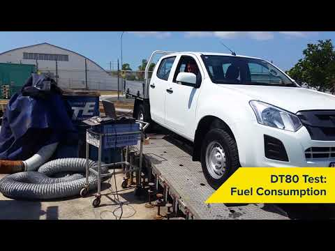 DT80 Test confirms additive fuel saving in new diesel vehicle