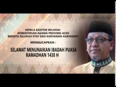 Selamat Menjalankan Ibadah Puasa Ramadhan Tahun 2017