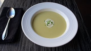 Learn how to make Potato Leek Soup Recipe! Visit http://foodwishes.blogspot.com/2016/11/potato-leek-soup-aka-vichyssoise.html for the ingredients, more ...