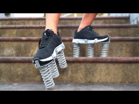 NTN - Thử Chạy Trên Chiếc Giày Lò Xo (Running with bionic boot) - Thời lượng: 13:11.