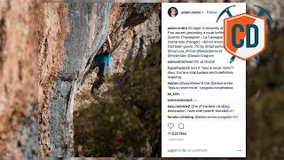 Adam Ondra Downgrades Pirmin Bertle's 9b Life Project | Climbing Daily Ep.1104 by EpicTV Climbing Daily