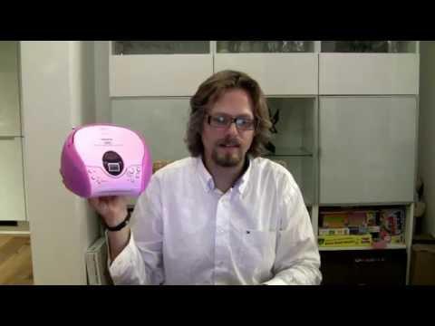 Kinder CD-Player Test - Begrüßung