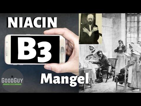 Vitamin B3 Niacin erstaunliche Wirkung!Mangelerscheinung!Vitalstoffkalender