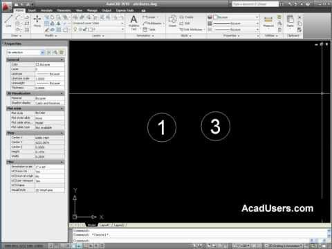 attribute - an example on creating attributed blocks in AutoCAD.