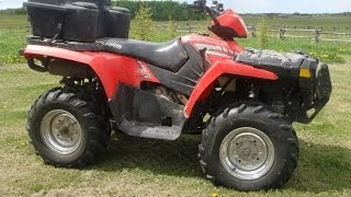 4. 2005 Polaris Sportsman 500 HO
