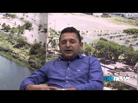 Entrevista com o prefeito de Hugo Napoleão, Hélio Rodrigues