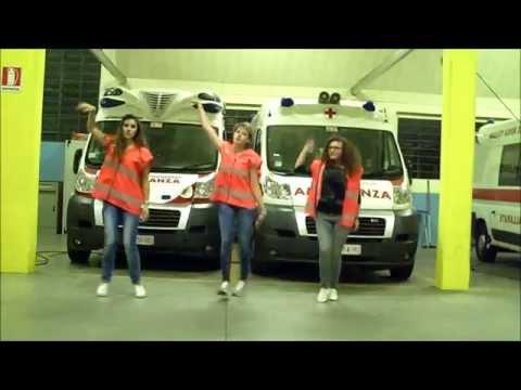 Le prove del flash mob della Croce rossa gallaratese